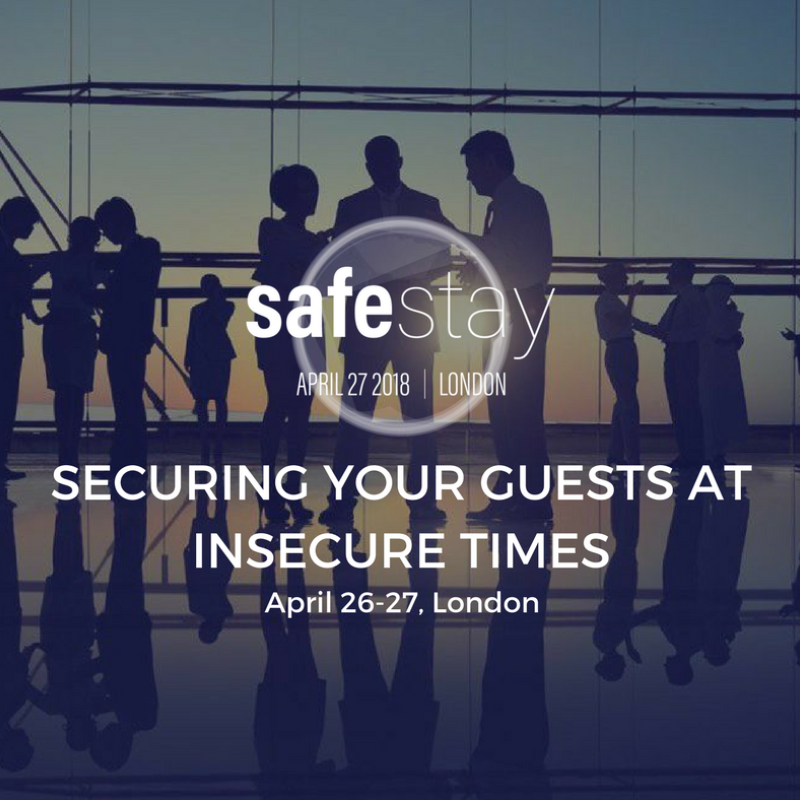 Safe Stay 2018 - All about hotel security & tourism safety